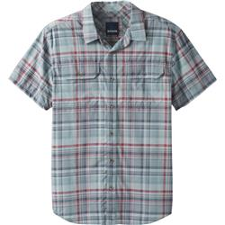 Prana Cayman Plaid Shirt SS - Mens-Agave