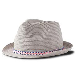 Prana Juliette Fedora - Womens-Light Grey