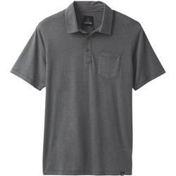 Prana prAna Polo - Mens-Charcoal Heather