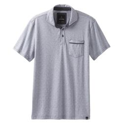 Prana Ryann SS Polo - Mens-Coal