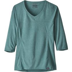 Patagonia Nine Trails Bike Jersey - Womens-Tasmanian Teal