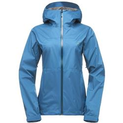 Black Diamond Stormline Stretch Rain Shell - Womens-Aegean