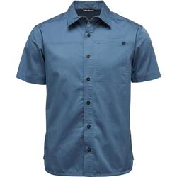 Black Diamond Stretch Operator SS Shirt - Mens-Ink Blue