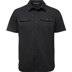 Black Diamond Technician SS Shirt - Mens-Black
