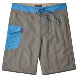 "Patagonia Patch Pocket Wavefarer Boardshorts, 20"" Inseam - Mens-Hex Grey"
