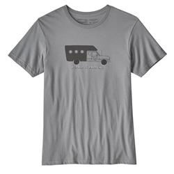 Patagonia Repair Is Radical Organic T-Shirt - Mens-Feather Grey