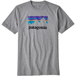Patagonia Shop Sticker Responsibili-Tee - Mens-Gravel Heather
