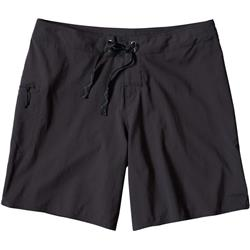 "Patagonia Stretch Planing Boardshorts, 8"" Inseam - Womens-Black"