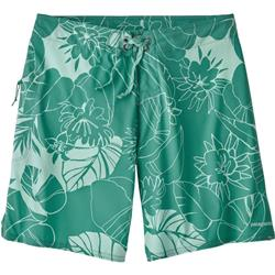 "Patagonia Stretch Planing Boardshorts,, 8"" Inseam - Womens-Valley Flora / Beryl Green"