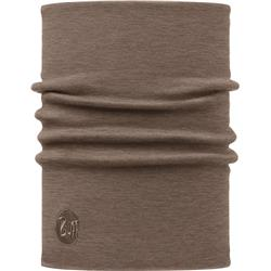 Buff Heavyweight Merino Wool Neckwarmer-113018.327 - Solid Walnut Brown