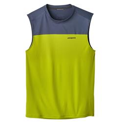 Patagonia Windchaser Sleeveless - Mens-Light Gecko Green