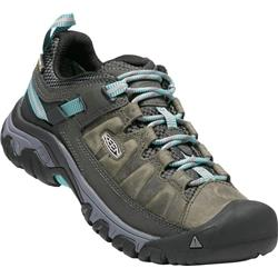 Keen Targhee III WP - Alcatraz / Blue Turquoise - Womens-Not Applicable