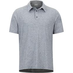 Marmot Wallace Polo SS - Mens-Black Heather