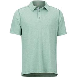 Marmot Wallace Polo SS - Mens-Pond Green Heather