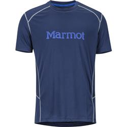 Marmot Windridge with Graphic SS - Mens-Arctic Navy