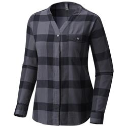 Mountain Hardwear Point Isabel LS Shirt - Womens (Prior Season)-Graphite