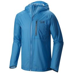 Mountain Hardwear Supercharger Shell Jacket - Mens-Dark Compass