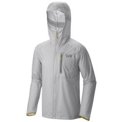 Mountain Hardwear Supercharger Shell Jacket - Mens-Grey Ice