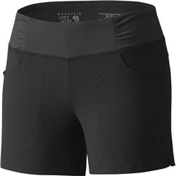 "Mountain Hardwear Dynama Short, 4"" Inseam - Womens-Black"