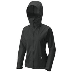 Mountain Hardwear Quasar Lite II Jacket - Womens-Stealth Grey