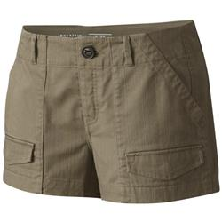 "Mountain Hardwear Redwood Camp Short, 3"" Inseam - Womens-Darklands"