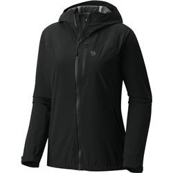 Mountain Hardwear Stretch Ozonic Jacket - Womens-Black