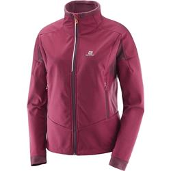 Salomon Equipe TR Jacket - Beet Red / Fig - Womens-Not Applicable
