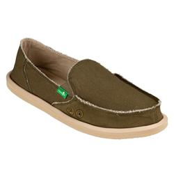 Sanuk Donna Daily - Womens-Dark Olive