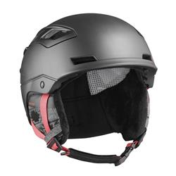 Salomon Canada - Nordic QST Charge Helmet W - Black/Coral-Not Applicable