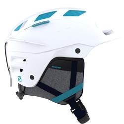 Salomon Canada - Nordic QST Charge Helmet W - White/Bluebird-Not Applicable