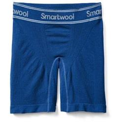 "Smartwool PhD Seamless 6"" Boxer Brief - Mens-Dark Blue"