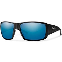 Smith Optics Guides Choice, Matte Black Frame, Chromapop Polarized Blue Mirror Lens-Not Applicable