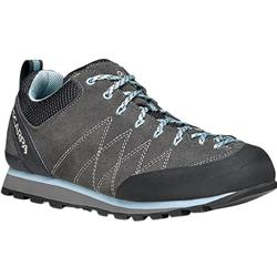 Scarpa Crux - Womens-Shark / Blue Radiance