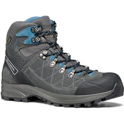 Scarpa Kailash Trek GTX, Wide - Mens-Shark Grey / Lake Blue