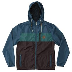 Hippy Tree Atlas Windbreaker - Mens-Blue