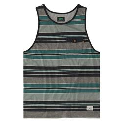 Hippy Tree Bristol Tank - Mens-Heather Black