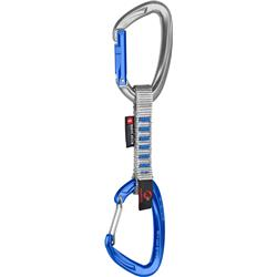 Mammut Crag Indicator Wire Express Set - 10cm - Straight Gate / Wire Gate - Silver / Ultramarine-Not Applicable