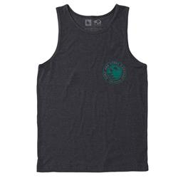 Hippy Tree County Tank - Mens-Heather Charcoal