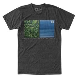 Hippy Tree Division Tee - Mens-Heather Charcoal