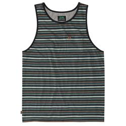 Hippy Tree Hendrix Tank - Mens-Heather Black