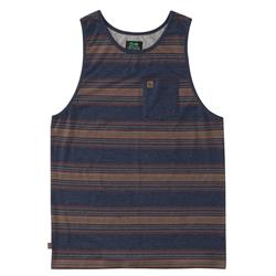 Hippy Tree Lexington Tank - Mens-Heather Navy