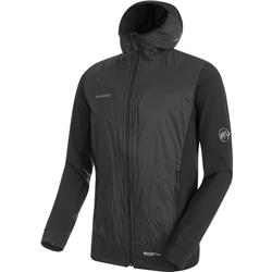 Mammut Foraker IN Light Hooded Jacket - Mens-Black