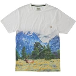 Hippy Tree Prairie Tee - Mens-White
