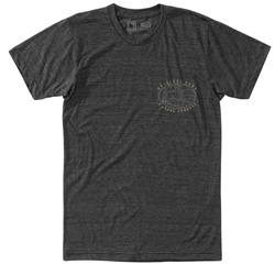 Hippy Tree Cosmos Tee - Mens-Heather Charcoal