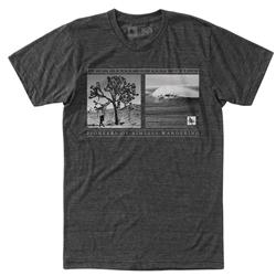 Hippy Tree Walkabout Tee - Mens-Heather Charcoal