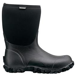 Bogs Classic Mid - Black - Mens-Not Applicable