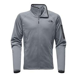 The North Face Borod Full Zip - Mens-Mid Grey / Asphalt Grey