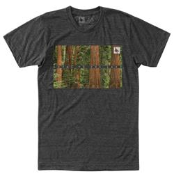 Hippy Tree Timberline Tee - Mens-Heather Charcoal