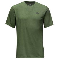 The North Face Crag Crew SS - Mens-Smoke Pine Heather
