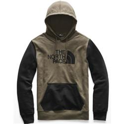 The North Face Half Dome Pullover Hoodie - Mens-New Taupe Green / TNF Black